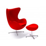 Кресло Egg Chair otto Red
