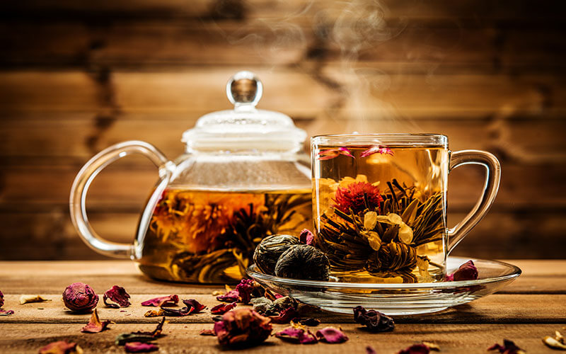 чашечка чая перед сном - залог здорового сна