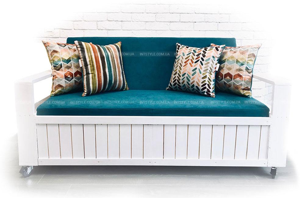 Диван из поддонов своими руками. Как сделать. Как сшить или где купить матрасы и подушки для диванов из поддонов.