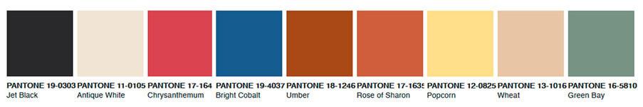 Патнон тренд цвета Pantone trend 2020