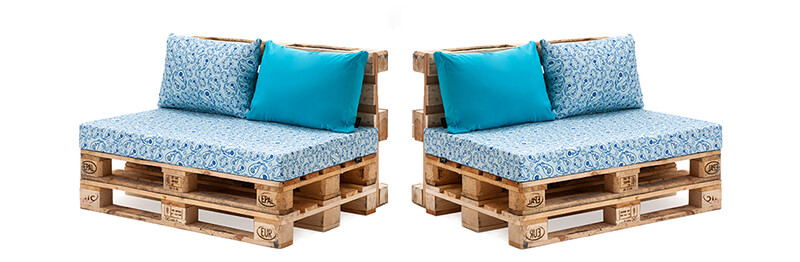 диван из поддонов и паллет материалы ткани поролон