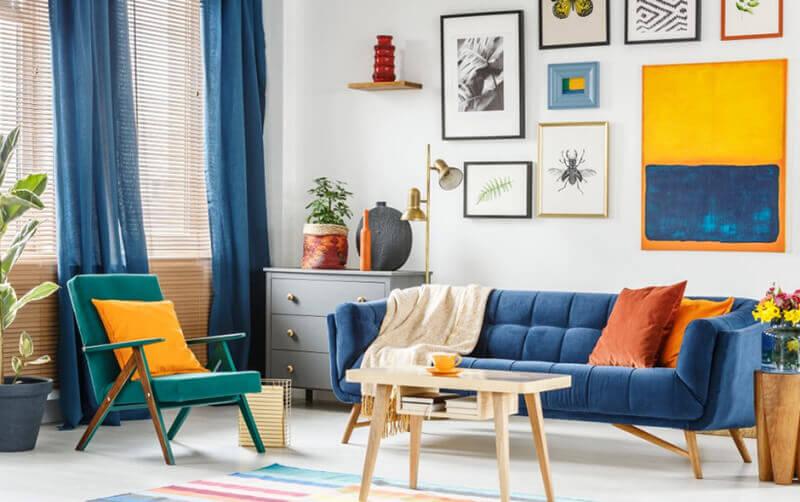 Советы по выбору штор: расчет размеров, подбор цвета и ткани.